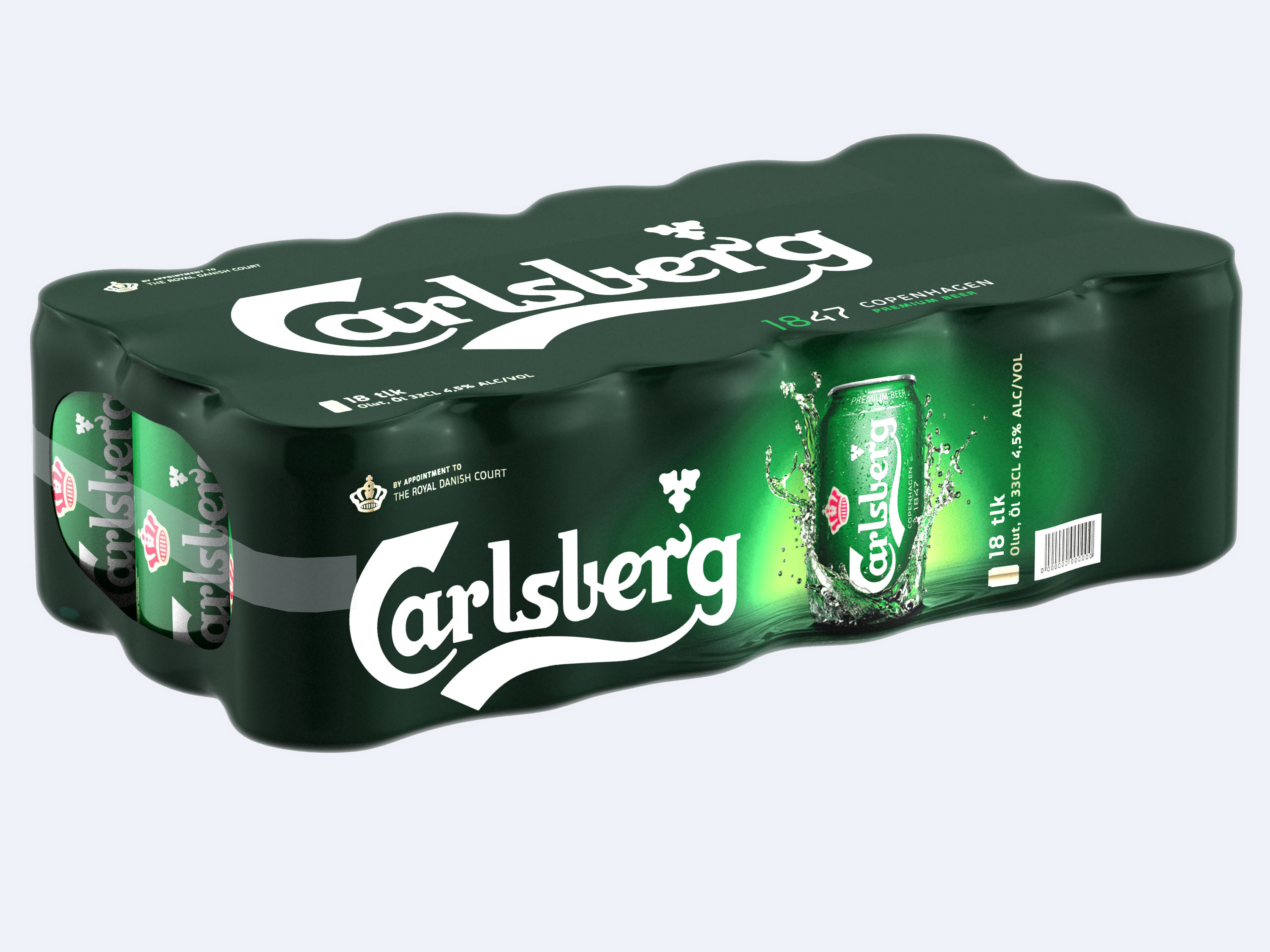 The Carlsberg shrink wrap multipack is for example produced by RKW  Carlsberg joins forces with suppliers to eliminate waste by developing next generation of packaging for high-quality 'upcycling'  The Carlsberg shrink wrap multipack is for example produced by RKW