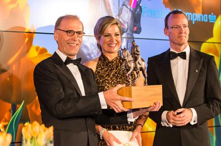 "KWI-storyboxgroot  FrieslandCampina winner ""Koning Willem I"" Award KWI storyboxgroot"