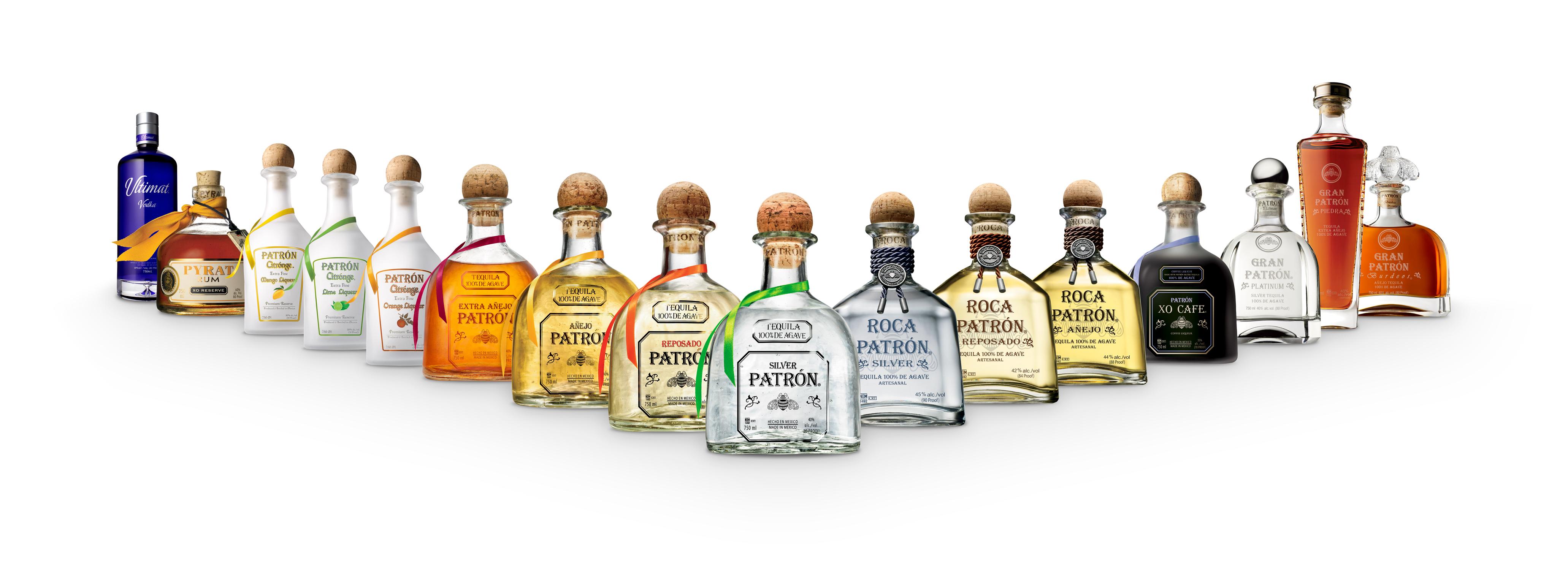 Bacardi to Acquire PATRÓN Tequila PATRON Portfolio 2017 Vform DMST 750ml